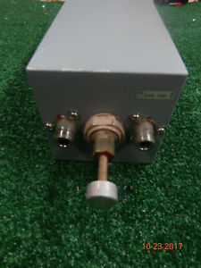 Emr Celwave Uhf Radio Repeater Band Pass Cavity Filter Duplexer 4 X 12 Square