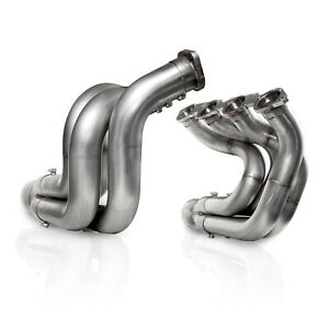 Stainless Works Dnbbc238s250 Downswept Stepped Bbc Header 2 3 8 To 2 1 2