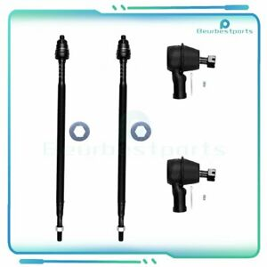 4pc Steering Parts Front Tie Rod Ends Kit Steering For 2003 11 Honda Element