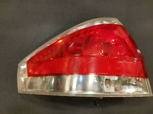 2008 2009 2010 2011 Ford Focus Left Driver Side Rear Chrome Tail Lamp Light Oem