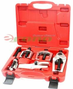 5pcs Front End Service Tool Ball Joint Tie Rod Set Pitman Arm Puller Remover