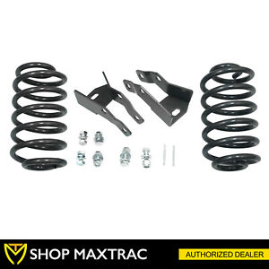 Maxtrac 4 Drop Lowering Kit W Coil Springs 201040 For 2000 2006 Chevy Suburban