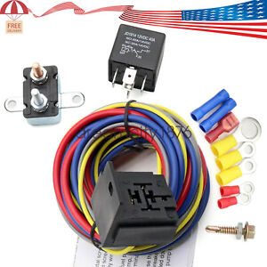 40205g Electric Fuel Pump Harness And Relay Wiring Kit With Instructions
