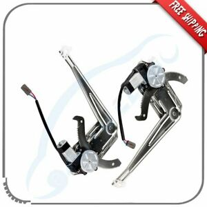 Window Regulator With Motor For 1993 2011 Ford Ranger Front Left Right