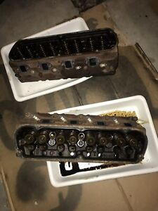 1987 1993 Ford Mustang 5 0 Pair Cylinder Heads E7te Oem 87 88 89 90 91 92 93