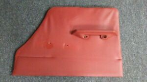 Rover 2000 Tc P6 1963 1970 Rear Right Interior Door Panel Red Leather