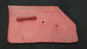 Rover 2000 Tc P6 1963 1970 Front Left Driver Interior Door Panel Red Leather
