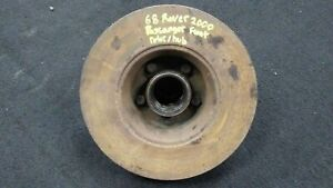 Rover Tc2000 P6 1963 1970 Oem Front Right Passenger Side Hub Rotor