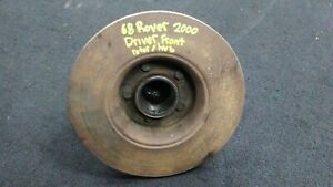 Rover Tc2000 P6 Oem Front Left Driver Side Hub Rotor