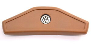 Early Steering Wheel Horn Pad Button 75 80 Vw Rabbit Mk1 Brown 175 419 669