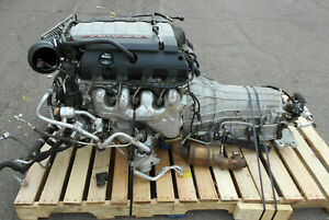Lt1 6 2l 455hp Takeout Engine 8 Speed Trans 16 162 Miles 2017 Camaro Ss 5644