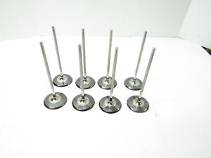 New Del West Titanium Intake Valves 6mm X 2 200 Head R07 Chevy Ford Xceldyne 61