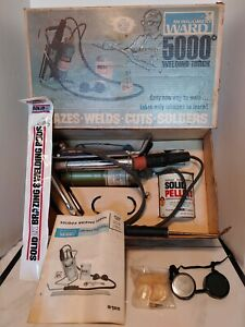 Montgomery Ward 5000 Solidox Welding Brazing And Soldering Torch Kit Vintage
