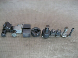 Lot Of Small Machinist Tools Apt Brf 1 Holders Clamps Parts For Grinder Or Lathe