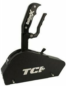 Tci 630002bl Outlaw X Blackout Shifter With Cover Gm Th350 Th400 Without Buttons