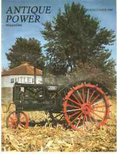 Oliver Hart Parr Farm Tractors of 1930 ANTIQUE POWER