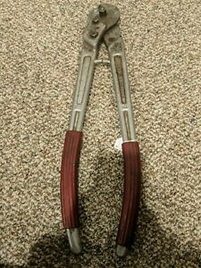 Felco C16 Electrical Wire Steel Cable Cutter 23 Length Ships Free In Usa