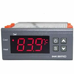 Temp Control Thermostat Itc1000 Dual Stage Digital Temperature Switch Controller