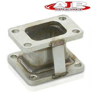 Stainless Steel Conversion Turbo Adapter Flange Plate For T3 To T70 T4 Assembly