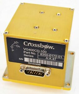Xbow Crossbow Vg400cd 100 Inertial Imu Vertical Gyro A a 47 Series 8350 0172 01