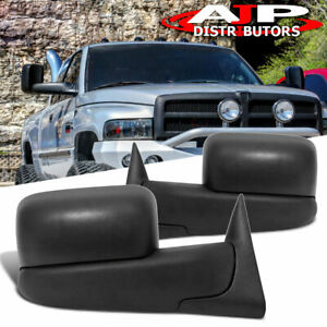 1994 2001 Dodge Ram Towing Flip Mirrors Manual By Hand Replacement Upgrade