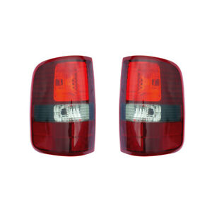 Tail Lights Pair Set For 06 06 Ford F 150 f 250 Harley Davidson black