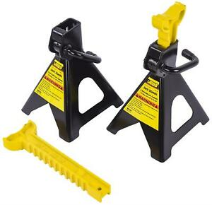 Jegs 80104 Jack Stands 2 ton Capacity Height Range 10 3 8 In To 16 1 4 In Bas