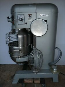Hobart H600 t 60 Quart Bakery Mixer Safety Cage Bowl Guard Dough Hook Whip