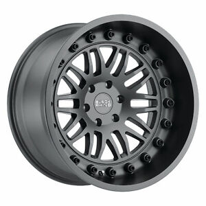 Black Rhino Fury 17x9 5 5x139 7 0mm Matte Gunmetal 4 Wheels Free Lug Nuts