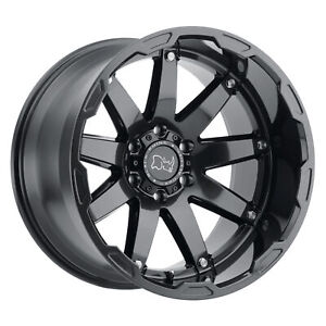 Black Rhino Oceano 17x9 5 5x139 7 0mm Gloss Gunblack 4 Wheels Free Lug Nuts