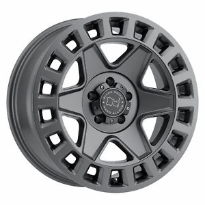 Black Rhino York 17x9 5x139 7 0mm Matte Gunmetal 4 Wheels Free Lug Nuts