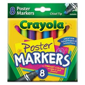 Crayola Poster Markers 8 Colors