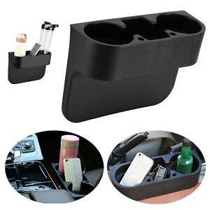 Car Seat Seam Wedge Cup Holder Food Drink Bottle Mount Storage Organizer Glove