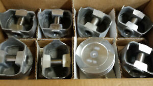 Ford 351 Cleveland Forged Pistons Standard L2416f Set Of 8