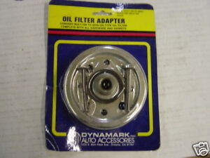 Oil Filter Adapter Bolt On To Spin On Chevy
