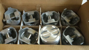 400 Chevy Pistons Forged L2410f 030 Over Dished Piston With 4 Releifs