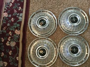 Corvair Parts Set Of 4 Hubcaps For 1962 To 1963