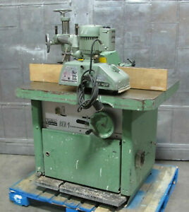 Wadkin Bursgreen Ber 4 Spindle Moulder Wood Shaper W Holzher Et 117 Powerfeeder