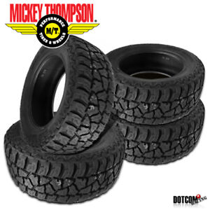 4 X New Mickey Thompson Baja Atz P3 Lt265 70r17 All terrain Smooth Tire