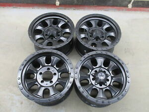 Aftermarket Set Of 4 18 X 9 Black Wheel Rims From 2008 Dodge Ram 1500 Lkq