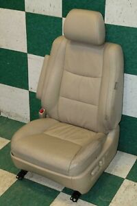 Note 03 04 Gx470 Tan Leather L Lh Left Driver Front Power Heated Seat Oem