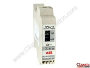 Abb Npba 12 Profibus Adapter Module new