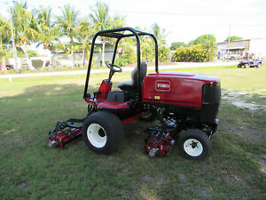 Toro Reelmaster 6500 d Diesel 96 Cut Reel Lawn Mower Model 03806