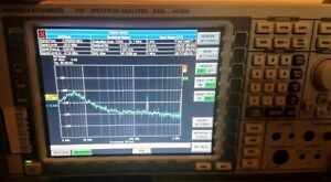 Rohde Schwarz Fsp 40 Ghz 16 Options b10 Etc Spectrum And Network Analyzer