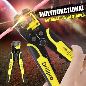 Multifunctional Automatic Wire Striper Professional Cord Cutter Cable Line Plier