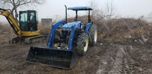 2013 New Holland Workmaster 75 tractor 75 Hp 4wd 1500 Hrs