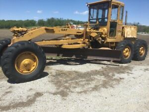1960 s Caterpillar D12e Grader Power Steering