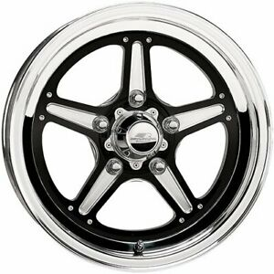 Billet Specialties Brs035406516 Street Lite Black Wheel Size 15 X 4 Rear Sp