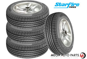 4 New Starfire Rs c 2 0 185 65r14 86h All Season Touring Tires