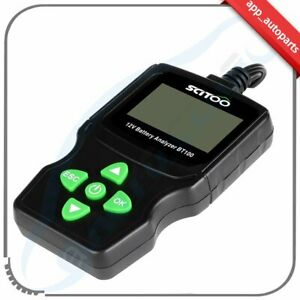 6v 18v Lcd Vehicle Car Digital Battery Test Analyzer Detection Tool Brand New